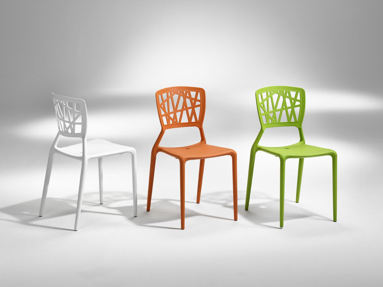 Metallstolar : Inca stapelbar stol